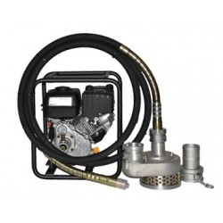 Pompe à cable 75m3/h eau chargé moteur thermique