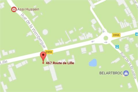 467 route de Lille 59230 Saint-Amand-les-Eaux