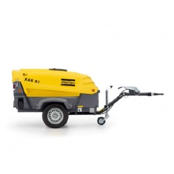 compresseur mobile 2000L - 7 bars